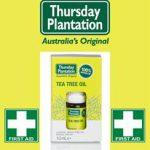 Uit de pers: Thursday Plantation Tea Tree Oil 100% Pure