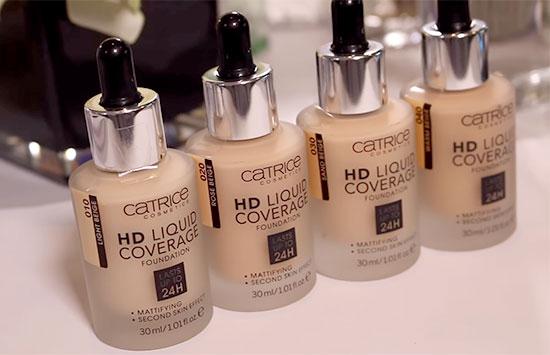 Catrice foundation hd liquid coverage