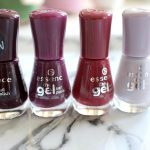 Essence The Gel Nailpolishes 4 x Paars!