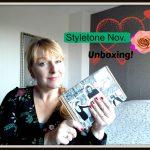 Unboxing Styletone Box November 2016