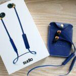 Sudio Sweden Vasa Bla Wireless Earphones with charger