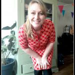 Outfit of the Day: Tante Betsy Zippie Sunny Red