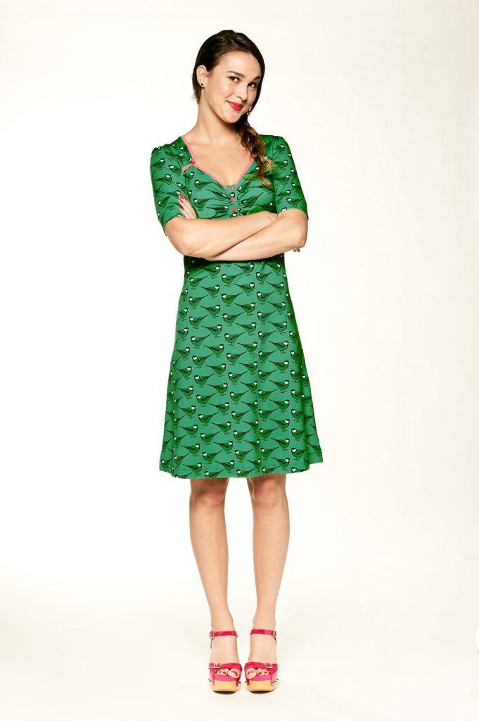 Dress Lola Songbird Green