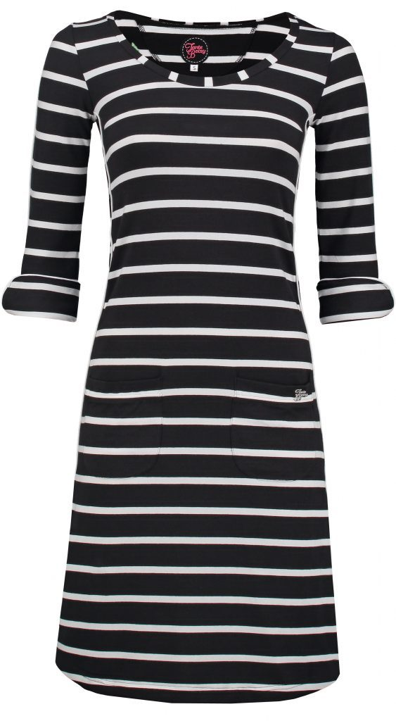 Dress Patsy Stripe Rose Black