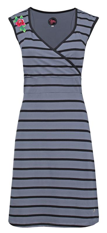Dress Summer Crossed Grey