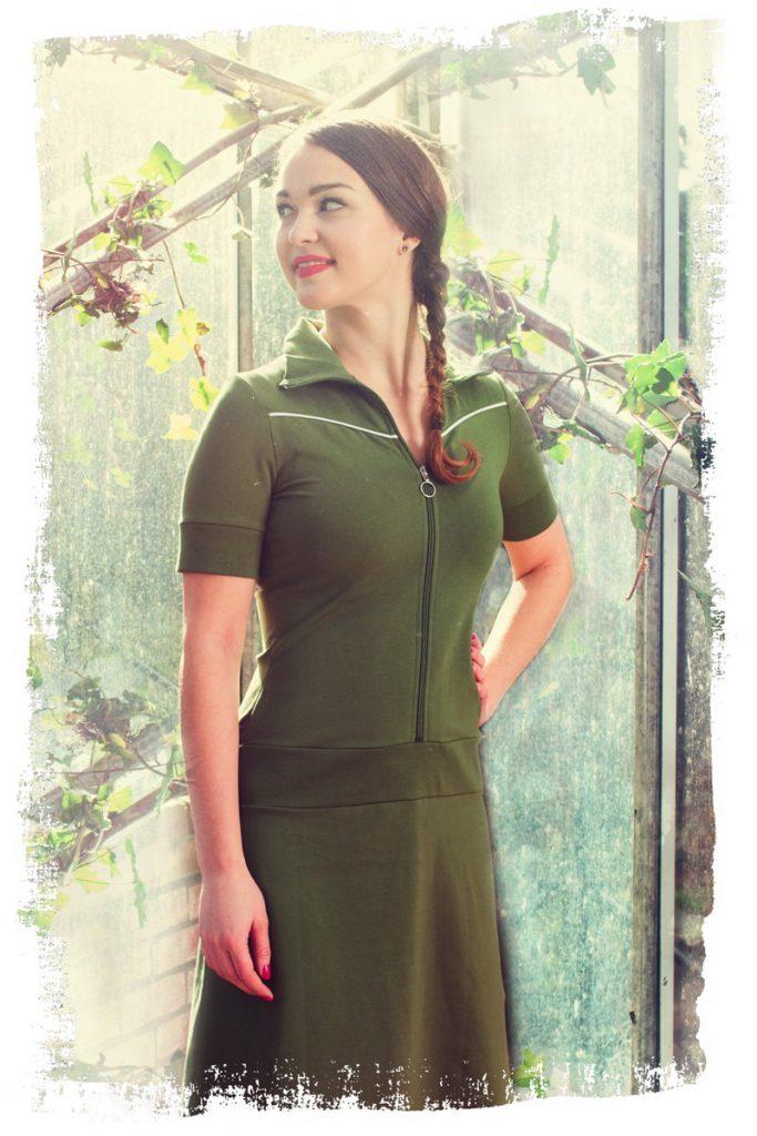 Dress Vera Army
