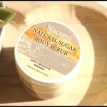 Nacomi Natural Sugar Body Scrub