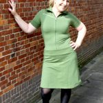 Outfit of the Day: Tante Betsy Dress Vera Army