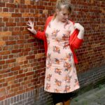 Outfit of the Day: Tante Betsy Dress Summer Les Fleur Orange