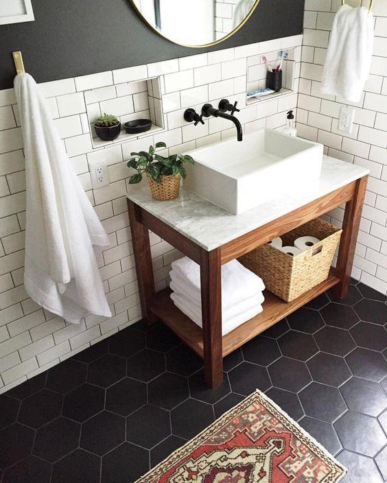 Update nieuwe badkamer! De stijl -