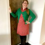 Outfit of the Day: Tante Betsy Dress Betsy Bloms Red
