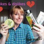 Video: Likes & Dislikes Juli 2016