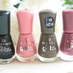Essence the gel Nail Polish kwartet
