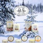 Warme wintergeuren voor je huis met de Oscar & Babette® EcoSojawas Geurkaarsen