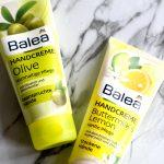 Balea Handcrèmes Buttermilk & Lemon en Olive