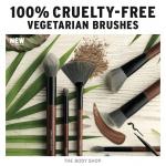 The Body Shop 100% CRUELTY-FREE VEGETARIAN BRUSHES