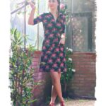 Outfit of the Day: Dress Sporty Roses Black