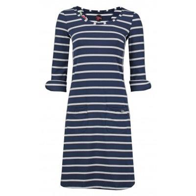 Dress Patsy Stripe Rose Navy