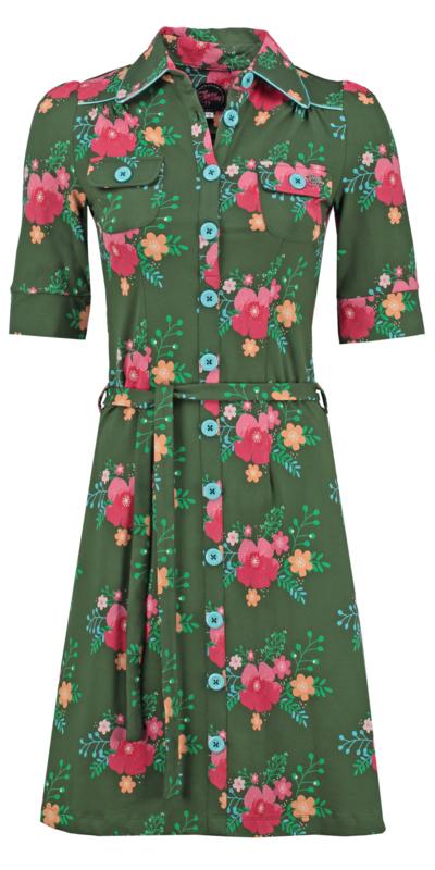 Dress Poppy Green