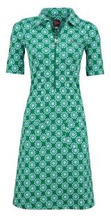 Dress Zippie Sunny Green