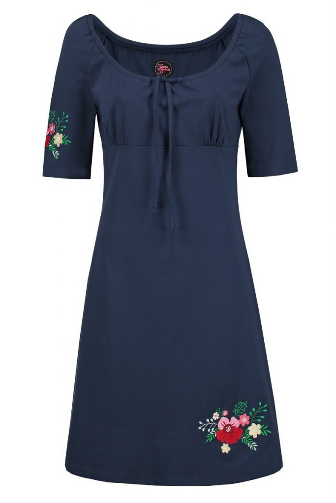 dress Senorita Navy