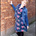 Tante Betsy Dress Betsy Poppy Navy & Blue
