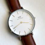 Daniel Wellington Classic Petite met leather strap