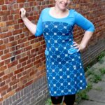 Outfit of the Day: Tante Betsy Dress Retro go Royal Blue