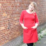 Outfit of the Day: Tante Betsy Dress Patsy Stripe Red