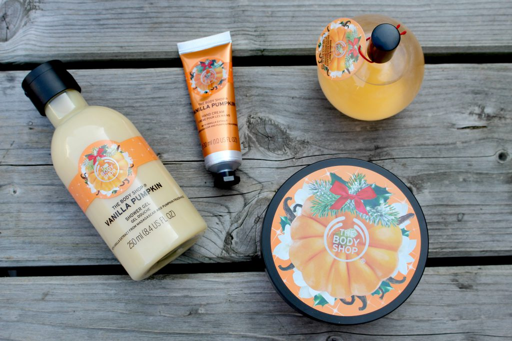The body shop vanillia pumpkin