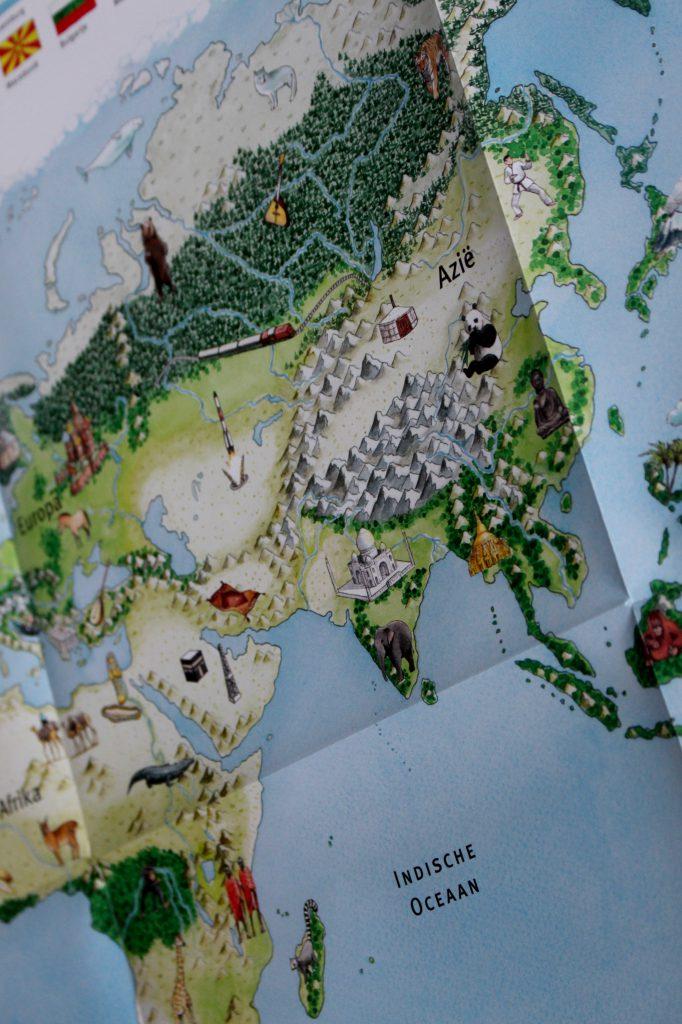 tiptoi wereldkaart