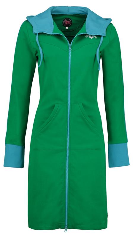 hoodie fit green