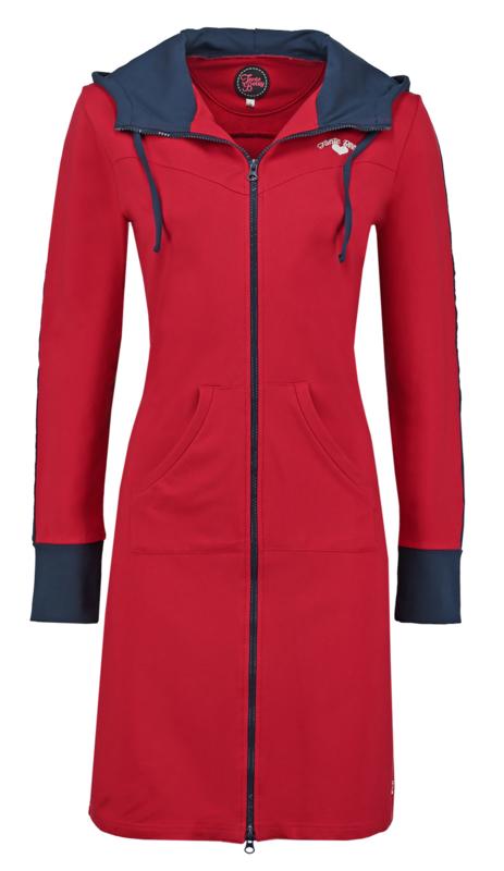 hoodie fit red