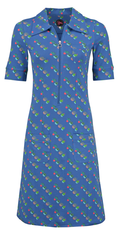 dress zippie cactus diaz blue