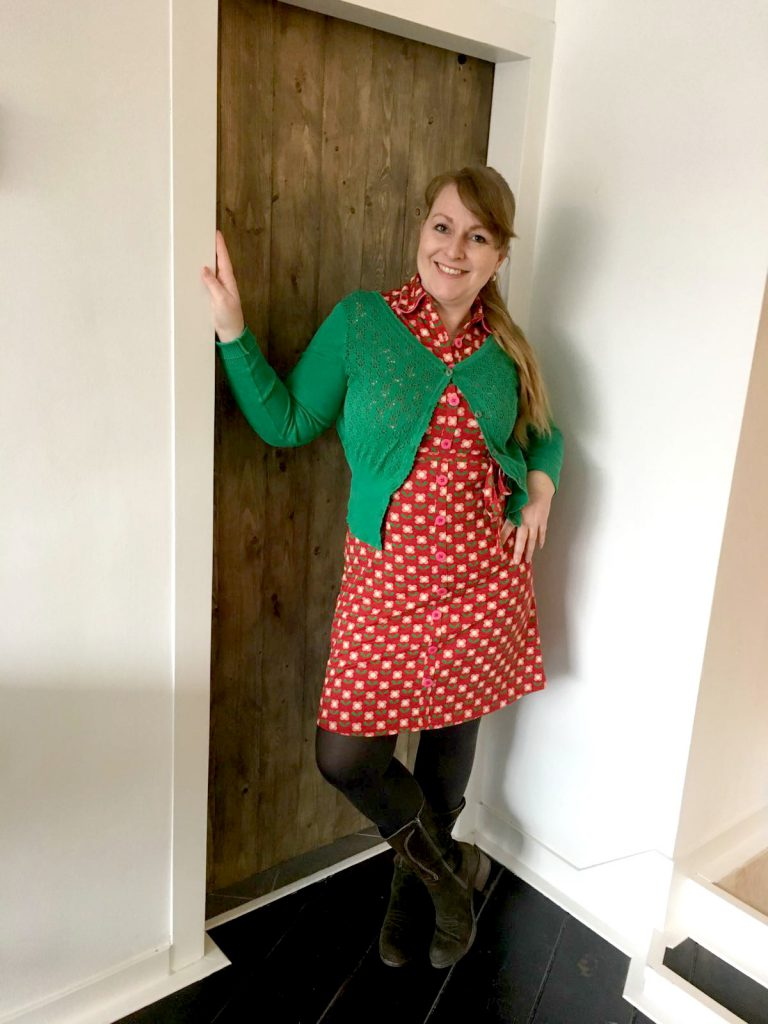 tante betsy dress betsy bloms red