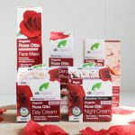 Huidverzorging met rozen van Dr. Organic