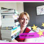 Mijn To Be Read stapel voor de maand juli