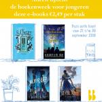 Boekenweek aanbieding! e-books voor 2,49!