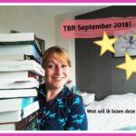 Mijn TBR lijst voor September. Wat wil ik deze maand lezen?
