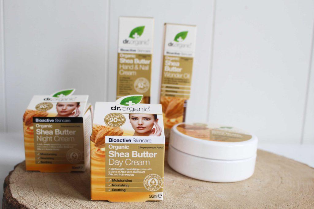 dr organic shea butter
