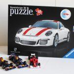 De stoere puzzel van Ravensburger! Porsche 3D puzzel!