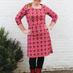 Tante Betsy Dress Wen Retro Brique & leuke weetjes