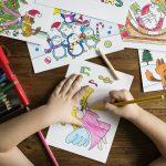Heerlijk ontspannen kleuren met je kinderen!