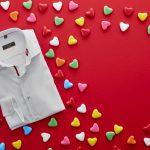 Hemdvoorhem op Valentijnsdag