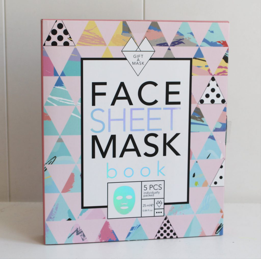 face sheet mask book