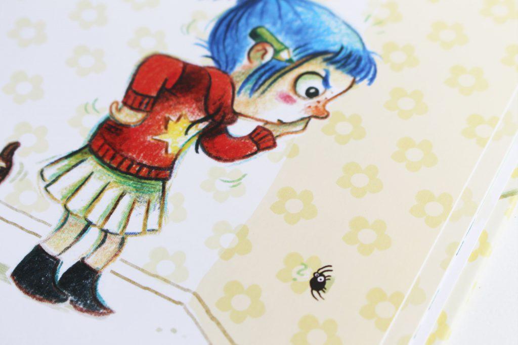 spinnen alarm