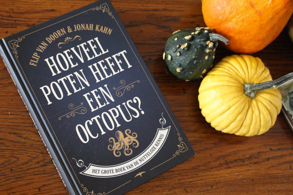 hoeveel poten heeft een octopus