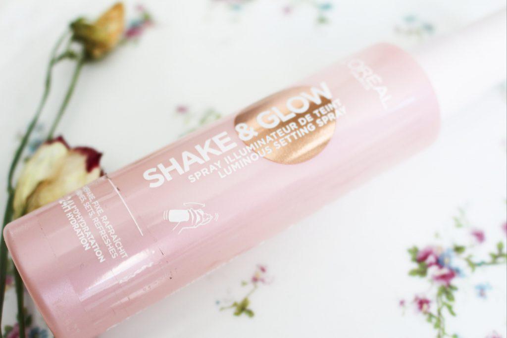loreal shake & glow