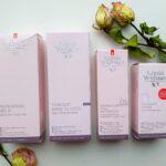 Een perfect schoon, zuiver en fris gezicht met de milde Louis Widmer dermatologische reinigingsproducten