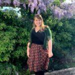 Outfit of Today: Tantilly Cirkelrok Bella Retro Bloemen Venus